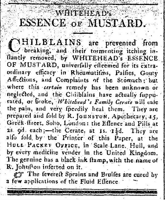 Whitehead's Essence of Mustard