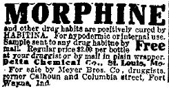 Habitina advert from the Fort Wayne Journal