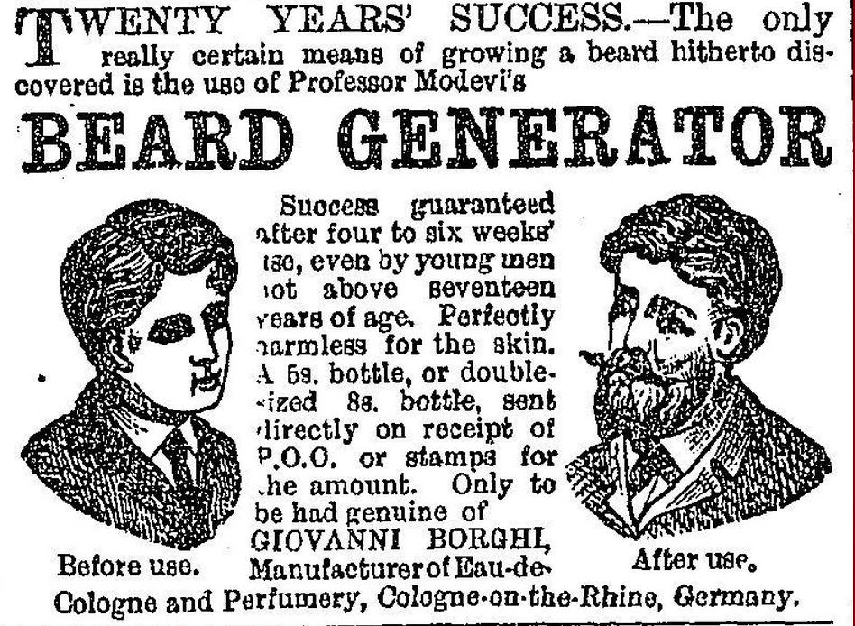 Professor Modevi's Beard Generator
