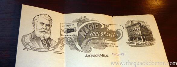 Magic Foot Draft Co Letterhead