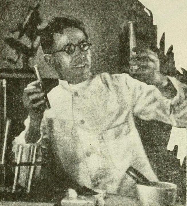M J McGowan, inventor of Terradermalax