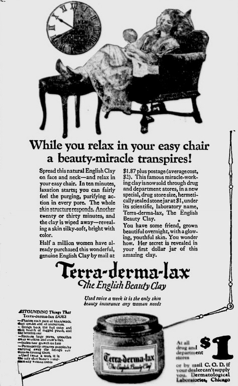 Terra-derma-lax advert, 1923