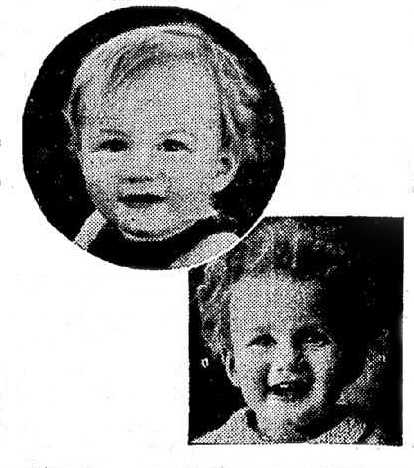 Picture of Master Duncan, Curlypet advertorial, The Mercury, Hobart 16 Feb 1935