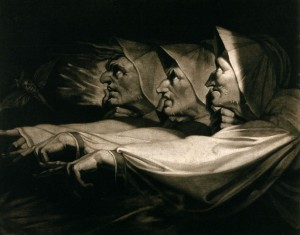The Three Weird Sisters, MacBeth - Henry Fuseli 1785