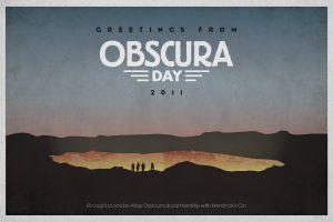 Atlas Obscura Day 2011