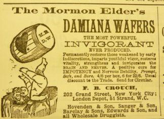 The Mormon Elder's Damiana Wafers