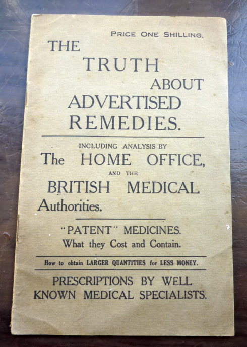 The Truth About Advertised Remedies