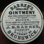 Barker's Infallible Ointment for the immediate cure of piles