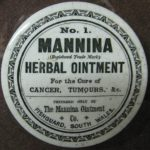 Mannina Herbal Ointment for the Cure of Cancer