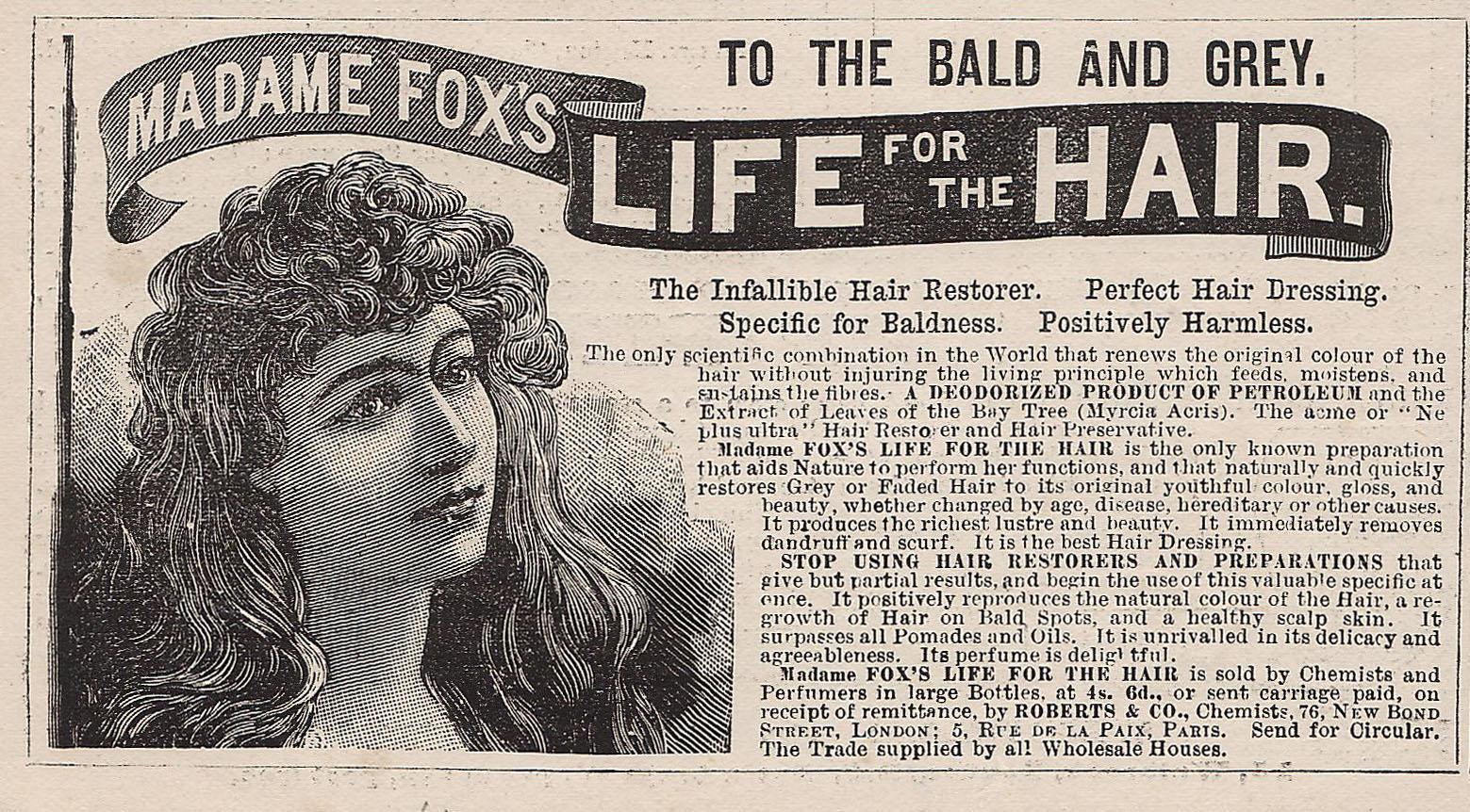 Madame Fox's Life for the Hair