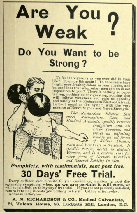 Are you weak? British Monthly, Nov 1902