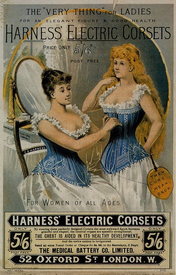 Harness's Electric Corset, 1890s