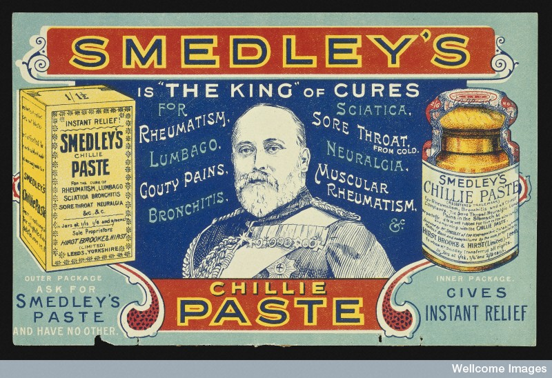 Smedley's Chillie Paste