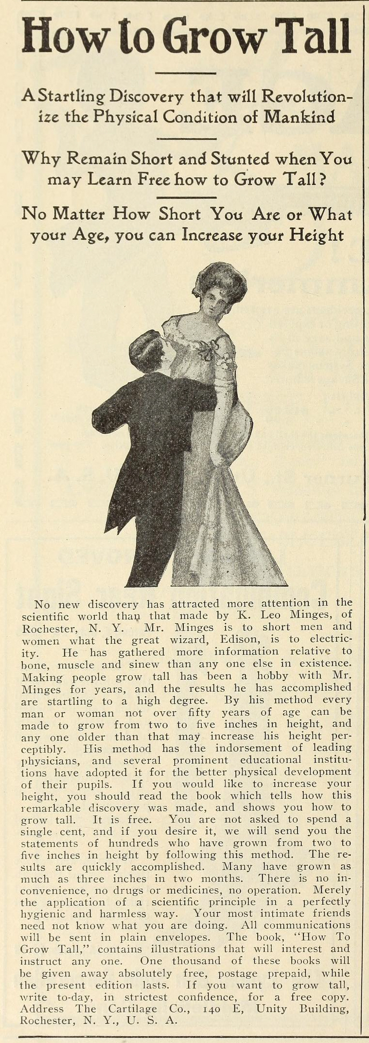 The Cartilage Company, from 'Recreation', Feb 1906