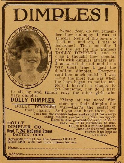 dolly dimpler motion picture