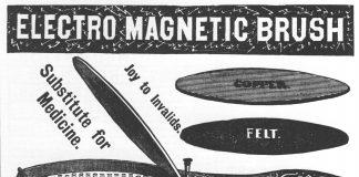 Robb Electromagnetic brush