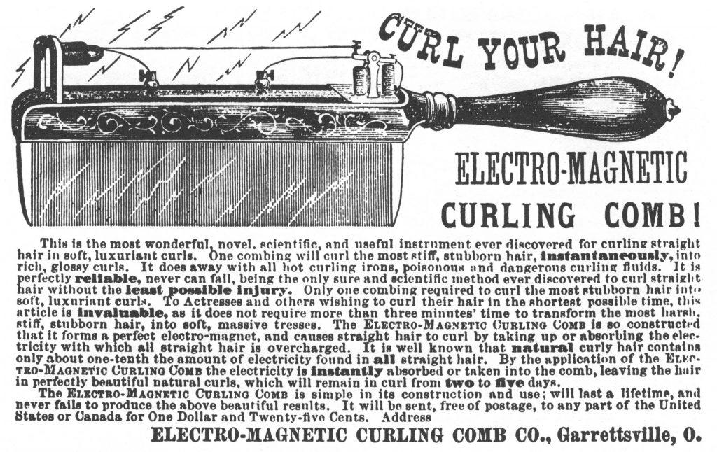 Robb Curling Comb, c 1875