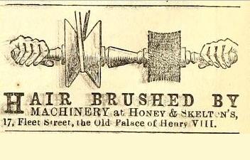 Honey & Skelton Advert, Punch 14 Nov 1863
