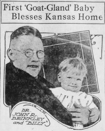 Brinkley and Billy - Santa Ana Register 20 Feb 1920