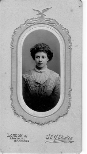 May Twort, February 1911, age 23