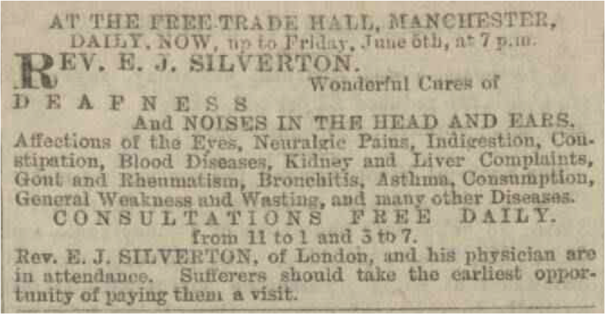 Silverton Advert