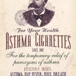 Dr Batty's Asthma Cigarettes